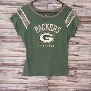 NFL green bay packers women's t-shirt size medium